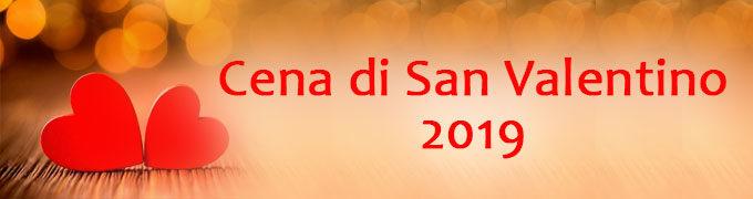 CENA DI SAN VALENTINO 2019|